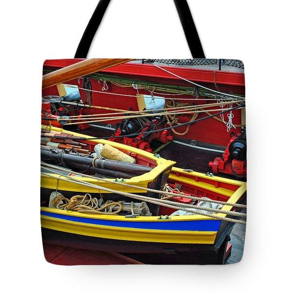 Boat Upon Boat Upon Ship Tote Bag