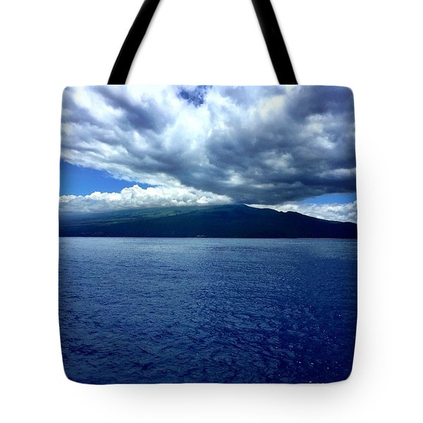 Boat View 2 Tote Bag by Michael Albright