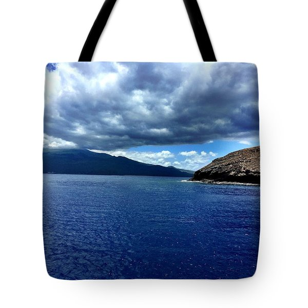 Boat View 3 Tote Bag by Michael Albright
