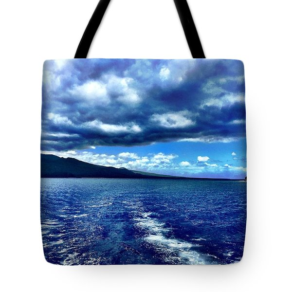 Boat View Tote Bag by Michael Albright