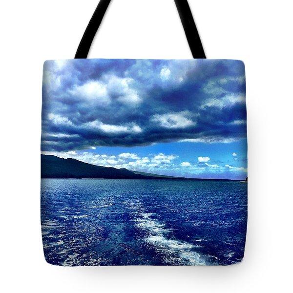 Boat View Tote Bag