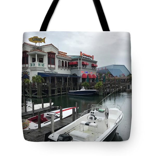 Boat Yard Tote Bag by Michael Albright