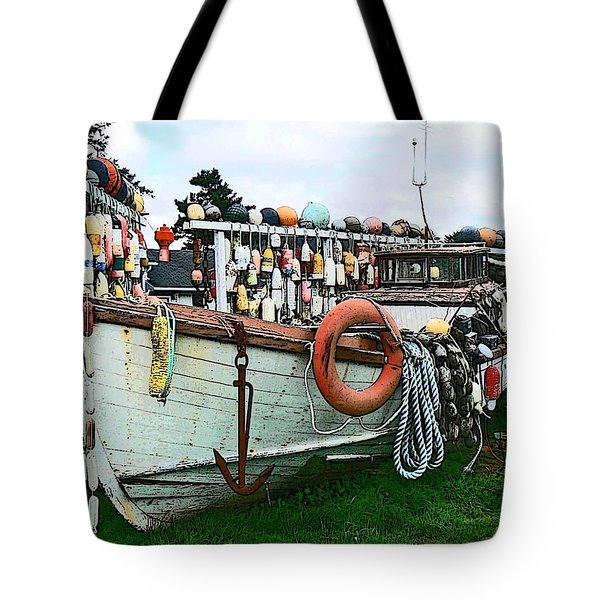 Boat Yard Tote Bag by Pamela Patch