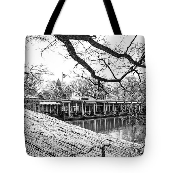 Boathouse Central Park Tote Bag