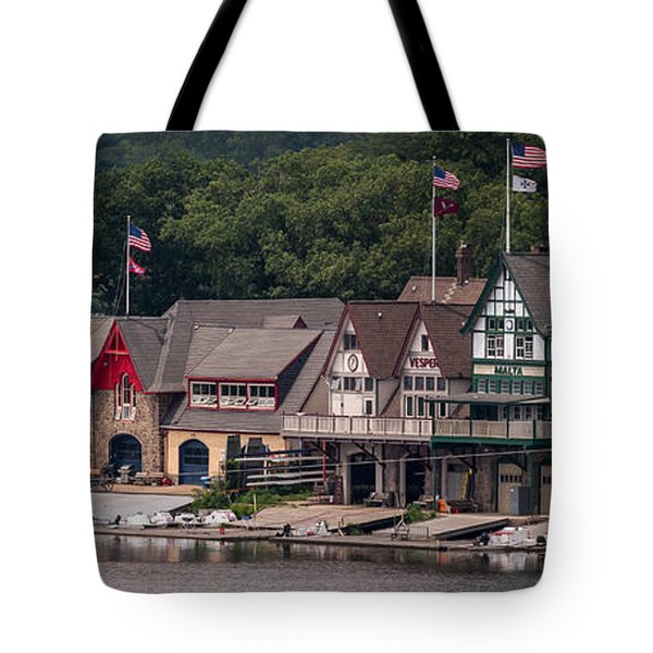 Boathouse Row Philadelphia Pa  Tote Bag