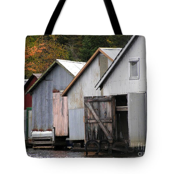 Boathouses Tote Bag