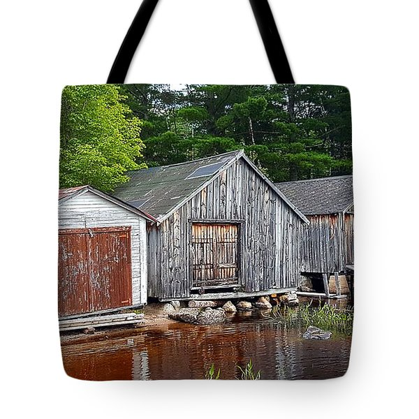 Boathouses - Mcadam Nb Tote Bag