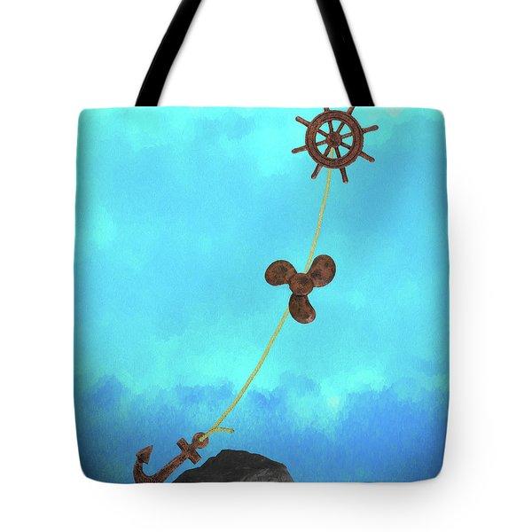 Boating Concept Tote Bag