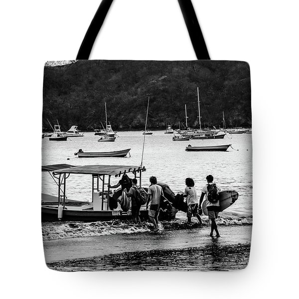Boats And Boards  Tote Bag