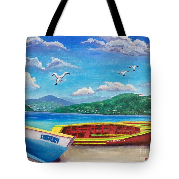 Boats At Rest Tote Bag