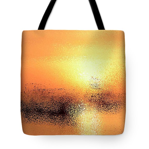 Boats In Gold Tote Bag