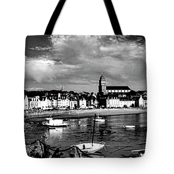 Boats In The Anse Tote Bag