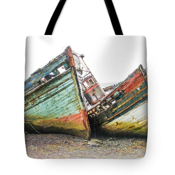 Boats Isle Of Mull 4 Tote Bag