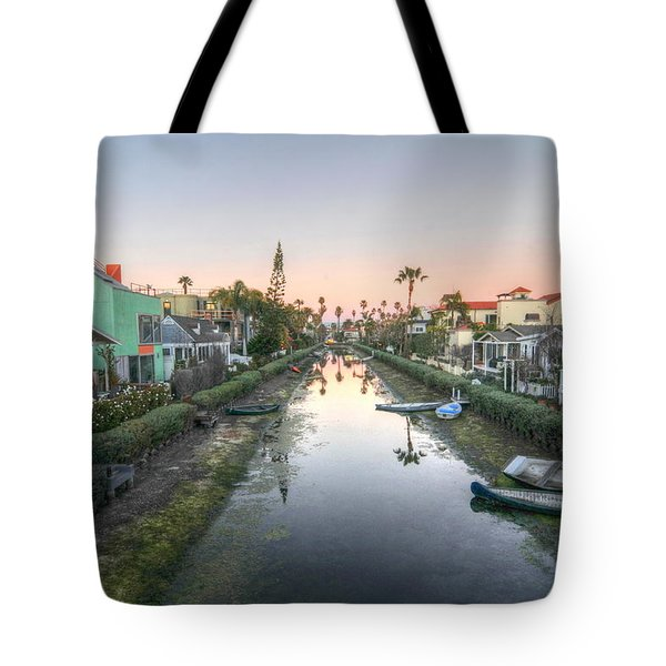 Boats On The Side Tote Bag