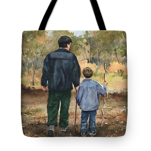 Bob And Alex Tote Bag by Sam Sidders