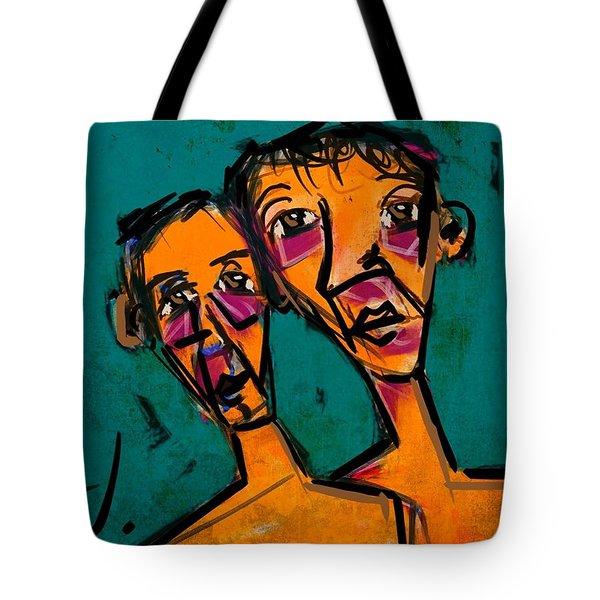 Bob And Tom Tote Bag by Jim Vance