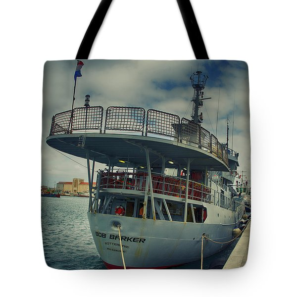 Bob Barker Tote Bag