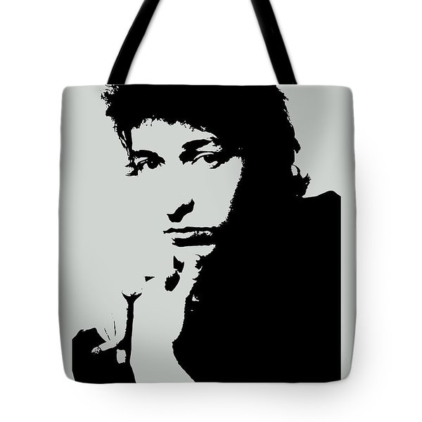 Bob Dylan Poster Print Quote - The Times They Are A Changin Tote Bag
