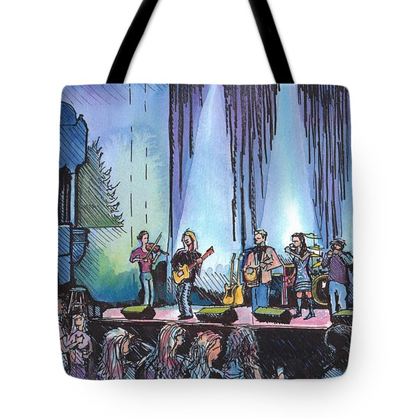 Bob Dylan Tribute Show Tote Bag