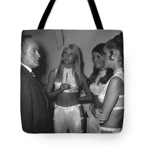 Bob Hope- The Ding-a-ling Sisters Tote Bag by Renee Anderson