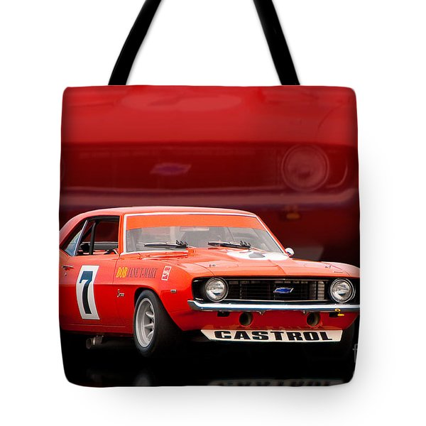 Bob Jane Camaro Tote Bag