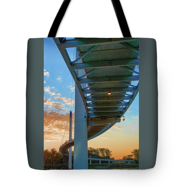 Bob Kerry Bridge At Sunrise-2 Tote Bag