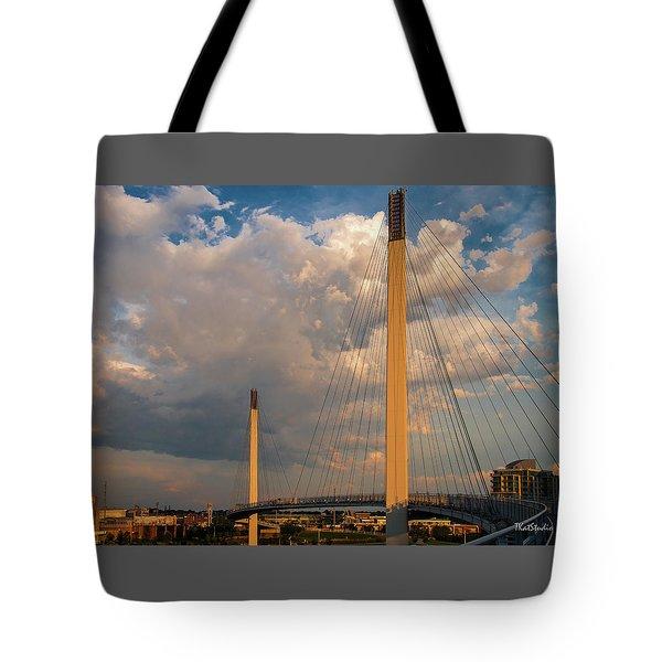 Bob Kerry Bridge At Sunrise-3 Tote Bag