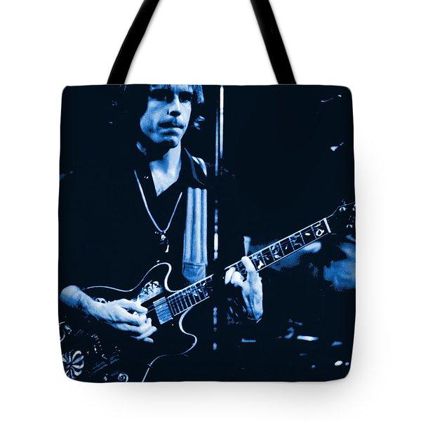 Bob Weir At Winterland 1977 Tote Bag by Ben Upham