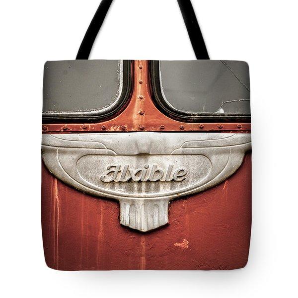 Bob Wills And His Texas Playboys Tour Bus Tote Bag