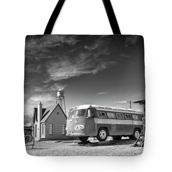 Bob Wills And The Texas Playboys Tour Bus Turkey Tx Tote Bag