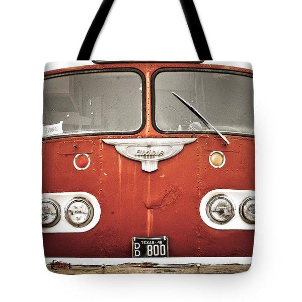 Bob Wills Bus Tote Bag