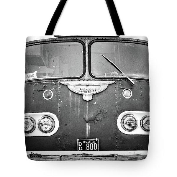 Bob Wills Tour Bus Bw Tote Bag