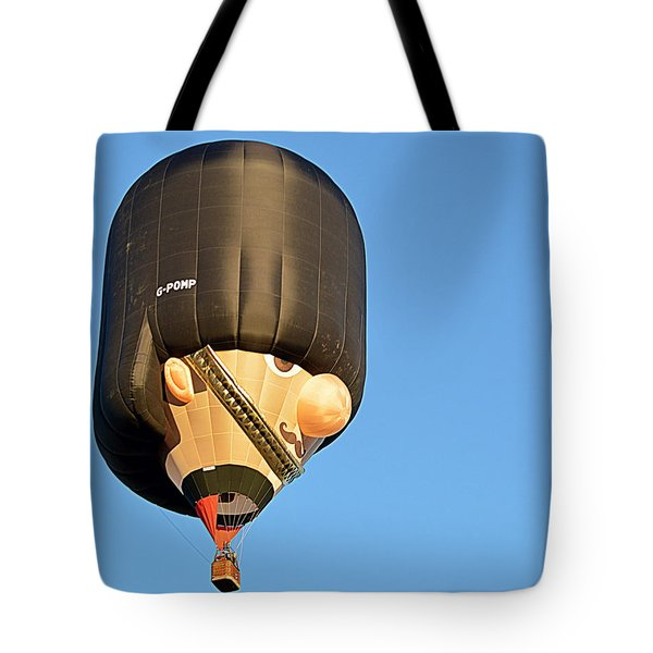 Tote Bag featuring the photograph Bobby by AJ Schibig
