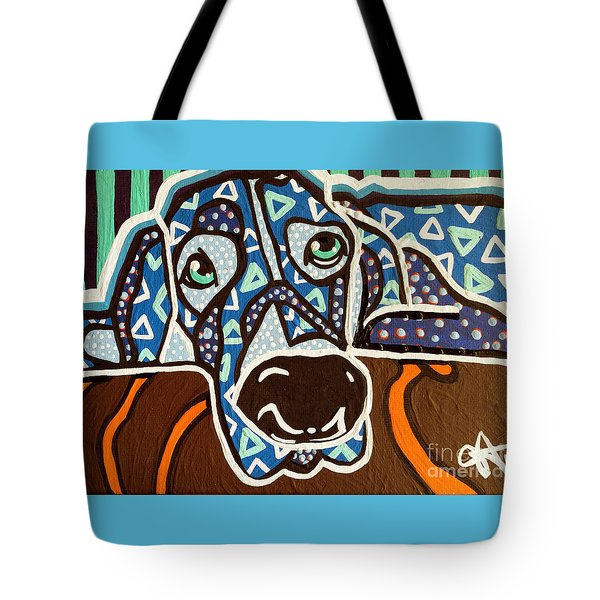 Bobby Blue Eyes Tote Bag