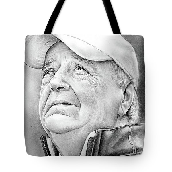 Bobby Bowden Tote Bag by Greg Joens