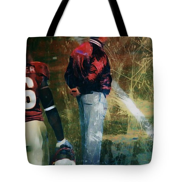 Bobby Bowden Tote Bag by Paul Wilford