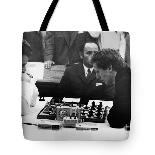 Bobby Fischer (1943-2008) Tote Bag