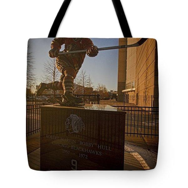 Bobby Hull Sculpture Tote Bag