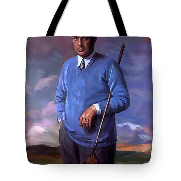 Bobbyjones-openchampion1926 Reproduction Tote Bag