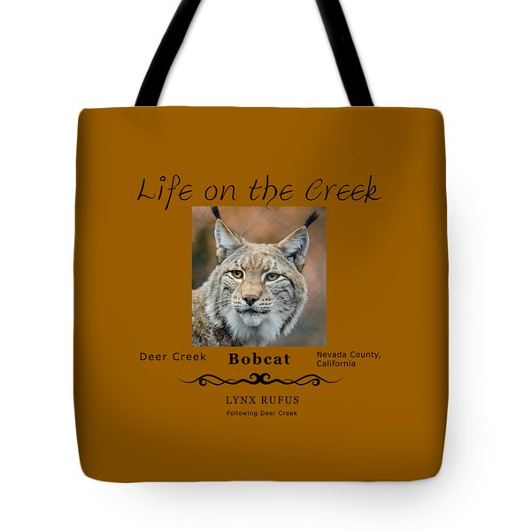 Bobcat - Lynx Rufus Tote Bag