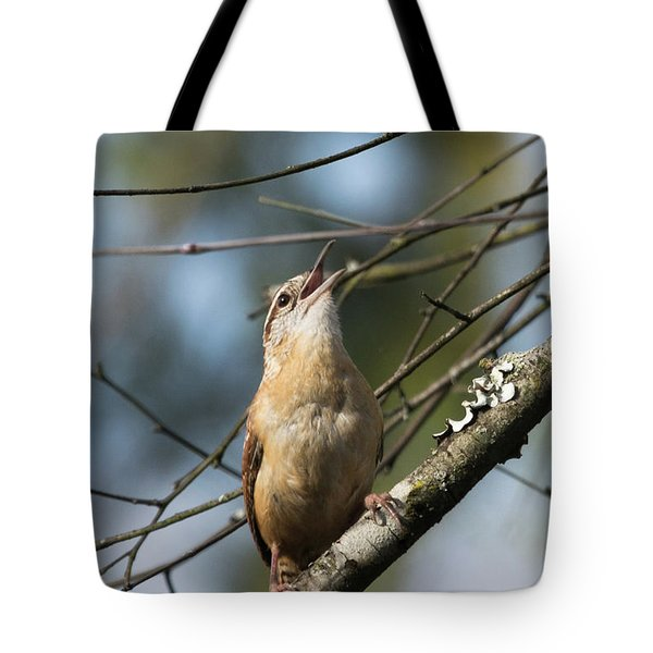 Bobolink Singing Tote Bag