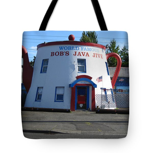 Bob's Java Jive Coffee Pot Tote Bag