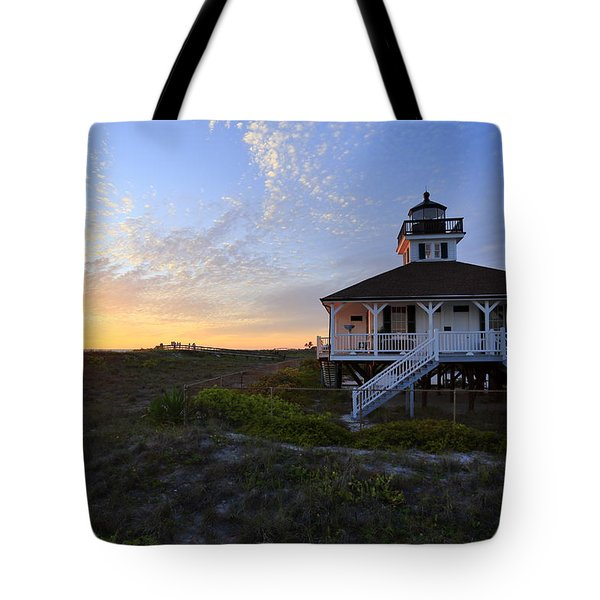 Boca Grande Lighthouse, Gasparilla Island, Florida, U S A Tote Bag