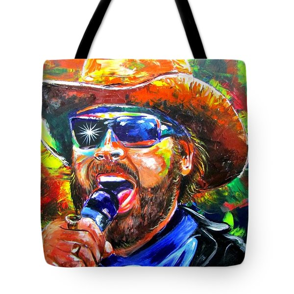 Bocephus Tote Bag