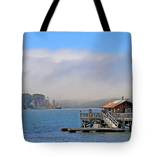 Tote Bag featuring the photograph Bodega Bay by Donna Kennedy