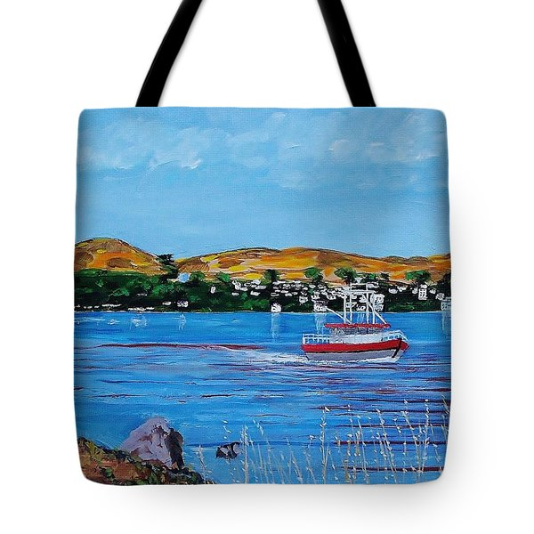 Bodega Bay From Campbell Cove Tote Bag