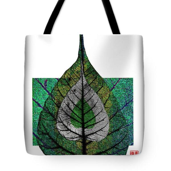 Bodhi Leaf Tote Bag