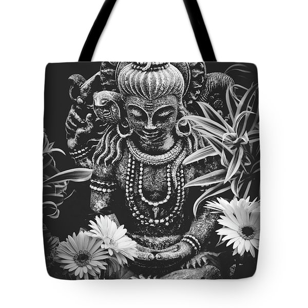 Bodhisattva Parametric Tote Bag by Sharon Mau