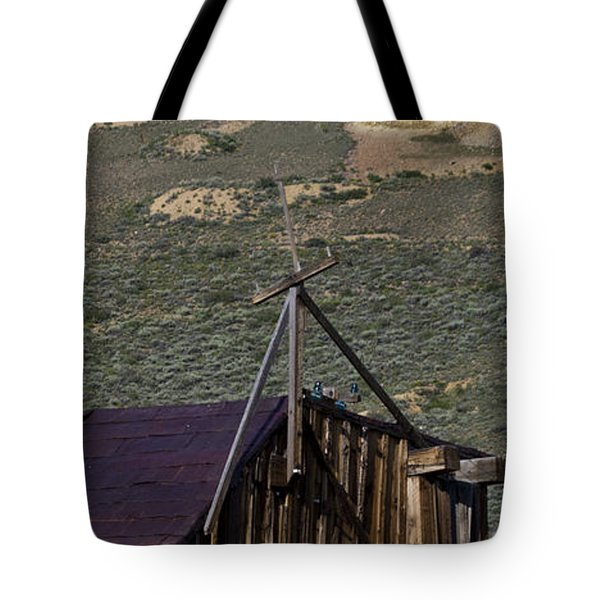 Tote Bag featuring the photograph Bodie 33 by Catherine Sobredo