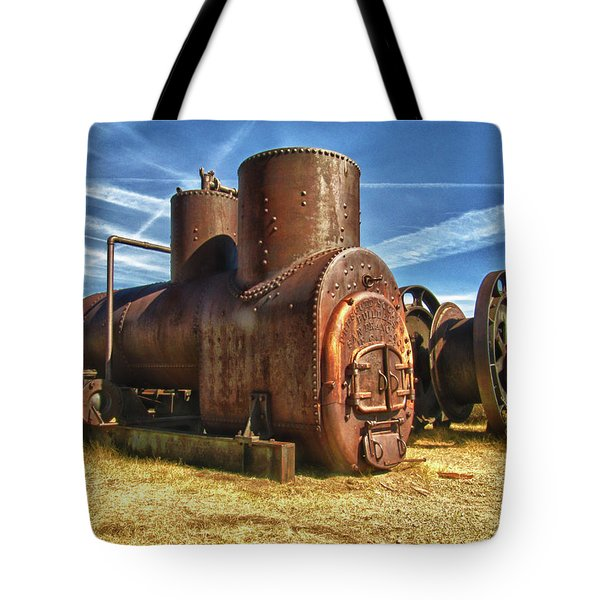 Old Boiler Bodie State Park Tote Bag by James Hammond